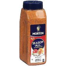 Lot of Two, 35 oz. MORTON SEASON-ALL SEASONED SALT, NO MSG, FREE USA SHIPPING