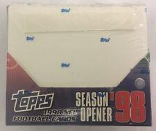 1998 Topps Season Opener Factory Sealed Football Hobby Box VHTF Manning RC?