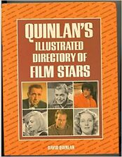 Quinlan's Illustrated Directory of Film Stars by Anova Books (Hardback, 1986)