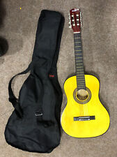 Music Alley Children's Guitar, MA 34 N, Classic Shape, Carry Case, Free P&P