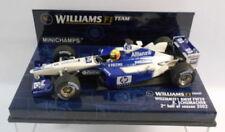 Coches de carreras de automodelismo y aeromodelismo Williams escala 1:43 BMW