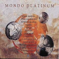 Mondo Platinum (CD) Khaled Faudel Hakim Cheb Mami Allanah Myles Zucchero Soraya