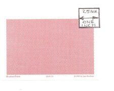 O (1/48) Scale - Lattice Reverse, Garnet - QGE111 Wallpaper miniature 3pcs