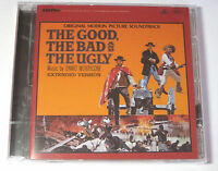 The Good The Bad And The Ugly ~ NEW CD Album ~ Film Soundtrack  Ennio Morricone