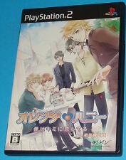Orange Honey - Boku Wa Kimi Ni Koishiteru - Sony Playstation 2 PS2 Japan - JAP