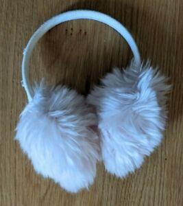 Gymboree Light Pink Ear Muffs PRIMA BALLERINA 4 5 6 7 8 9 10 XS S M L Faux Fur