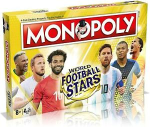 Winning Moves Monopoly World Football Stars Edition Fun Family Board Game