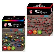 100~200~500 LEDs Berry String Fairy Lights Xmas Christmas + 8 Modes Timer Memory