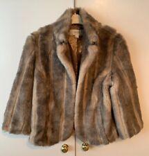 Next Size 12 Faux Fur Coat