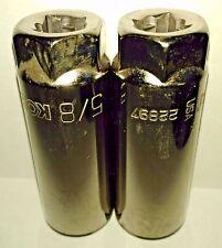 "Kobalt 22897  3/8 Drive 6 Point 5/8"" Spark Plug Socket USA 2PCS"