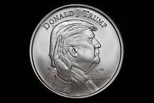 2017 Donald Trump 1oz Silver Round .999 Fine Bullion Coin President of the USA