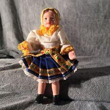 Vintage Czech Lidova Tvorba Doll 6 Inches National Costume