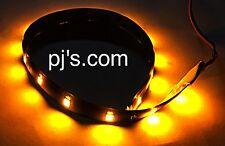 ORANGE 300mm 3528 SMD LED Strip Light - 12 volt