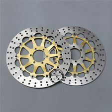 Floating Front Brake Disc Rotor For Ducati Paul Smart 1000 GT1000 Motorcycle New