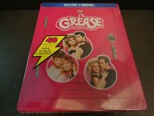 Grease Collection 40th Anniversary Steelbook Blu-ray Disc Digital