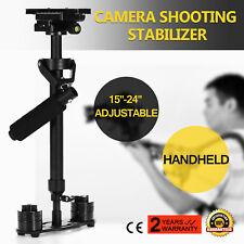S60 Handheld Stabilizer Steadycam Steadicam for Camcorder Camera DSLR Video DV