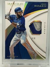 2018 Immaculate Amed Rosario Cleates Patch 4/8!