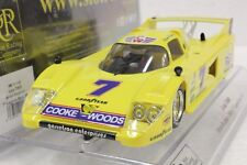 SRC 01703 LOLA T600 IMSA MOSPORT 1981 BRIAN REDMAN NEW 1/32 SLOT CAR IN DISPLAY
