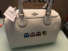 NWT COACH LIMITED EDITION CROSSGRAIN LEATHER PACMAN CROSSBODY PAC MAN BAG