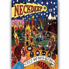New Custom Neck Deep Silk Poster Wall Decor 24x36 Inch
