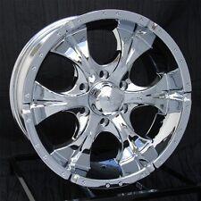 17 inch Chrome Wheels/Rims Chevy GMC Sierra 6 Lug 1500 Truck Avalanche Helo Maxx