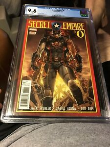 SECRET EMPIRE #0 Incentive Variant Cover by Rod Reis CGC 9.6 NM