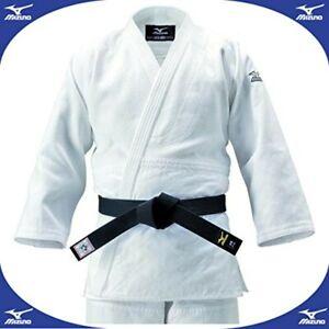 Mizuno JAPAN Judo gi Jacket Judogi YUSHO 2017 Double Weave Model 22JM6A8201