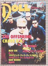 THE OFFSPRING CHAOS U.K. MAD SIN THR DRONES PISTOLS Japanese Magazine DOLL 1998