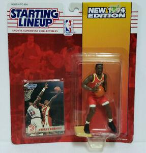 STACEY AUGMON - Atlanta Hawks SLU NBA Starting Lineup 1994 Action Figure & Card
