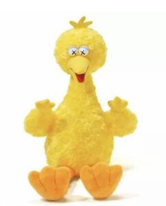 KAWS Sesame Street Uniqlo Big Bird Plush Toy Yellow