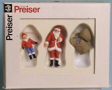 Preiser 65335, Spur 0  1:43,5 / 1:45, Weihnachtsmann und Kind, Santa Claus+child