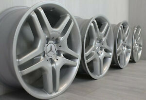 """REFURBISHED Genuine Staggered 18"""" Mercedes AMG S-class W220 CL-Class C215 wheels"""