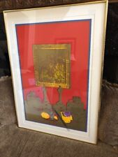 "Liao Shiou-ping ""Still Life"" Signed Numbered 10/50 Serigraph 1976"