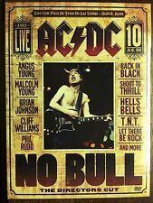 AC / DC  *NO BULL / THE DIRECTOR'S CUT * CONCERT / STANDARD DVD FORMAT NM