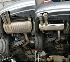 TSUDO BMW 328I 328IX 07 08 09 10 11 2dr 4d rolled tips axle back exhaust