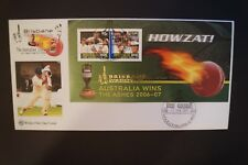 Cricket Collectable - Day Cover - 2007 - Howzat - Australia Wins The Ashes