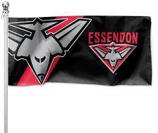 Essendon Bombers AFL Pole Flag 1800mm by 900mm BNIP Cape