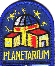 """PLANETARIUM"" Iron On Embroidered Patch Astrology Universe"