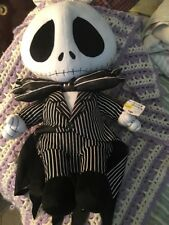 """Nightmare Before Christmas 24"""" Inches Jack the Skeleton Plush Neca NWT Stain"""