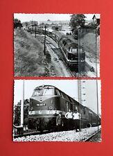 2 x Original Eisenbahn Foto LOMMATZSCH Diesellok 118 265-8  ( 44804