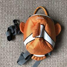 Little Life Disney Finding Nemo Toddler Rucksack/Backpack Safety Reins & Harness