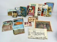 Large Lot Vintage Mixed Europe Postcards Photos Maps France England Italy Spain