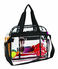 Summer Beach School See Through Outdoor Travel Clear Durable Messenger Bag