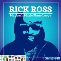 Rick Ross Maybach Music Grand Piano Loops Licks Chords Riffs WAV REX2 Reason MPC