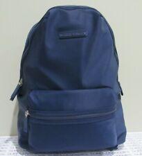 TOMMY HILFIGER Nylon Backpack Bag NWT Navy Blue Unisex OS/TU Style 6943309/423