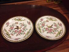 Pair Of Besutiful Crown Devon Sf&Co Old Bow Antique Plates