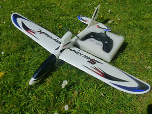 Hubsan Spyhawk  RC plane powered glider complete with Transmitter
