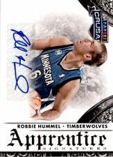 2013-14 Panini Crusade Apprentice Signatures #34 Robbie Hummel Autograph