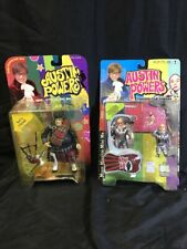 Austin Powers Lot Of 2 Action Figures Fat Bastard Mini Me McFarlane Toys Kg Ws3