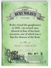 Ricky Nolasco Green Back 146 2017 Gypsy Queen /50 Rare SP/SSP Angels Variation